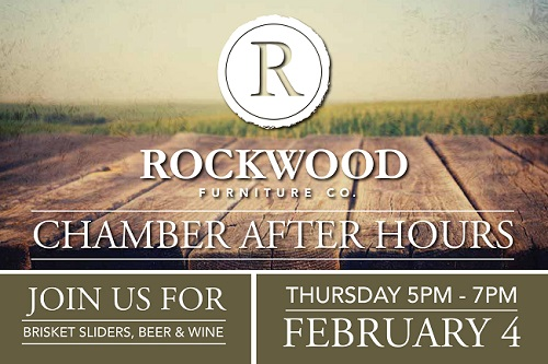 Chamber After Hours At Rockwood Furniture Co.