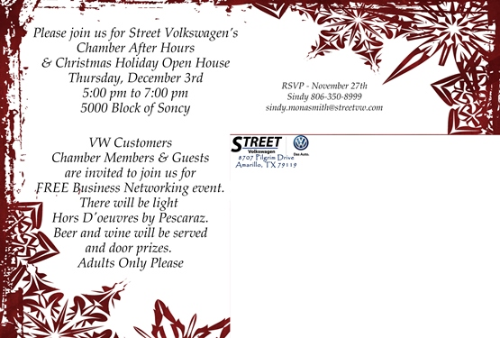Chamber after hours at street volkswagen amarillo chamber of this is a free business networking event for current and future members of the amarillo chamber of commerce bring some business cards and be prepared to colourmoves